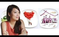 Edible Creativity Of Red Hong Food Art