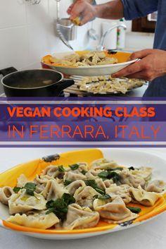 Vegan Cooking Class in Ferrara Italy | #lifeadvancer | @lifeadvancer