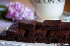 Brownies ekspress (uten nøtter) | Det søte liv