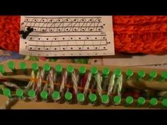 How to loom knit the Closed Stitch Beginning to End - YouTube