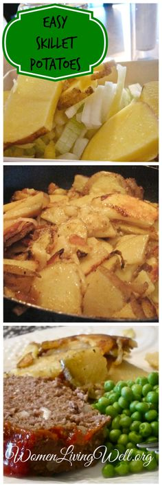 If you are making them for breakfast, let me suggest to fry bacon in a skillet, then fry your potatoes in the bacon renderings. Then, crumble the bacon on top.  My favorite part – you don't have to peel the potatoes!  This is a naturally gluten/dairy/egg free recipe.