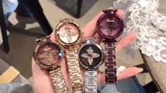 Cool Watches For Women, Watch Video, Make Time, Bracelet Watch, Bling, Bottle, Bracelets, Casual, Unique