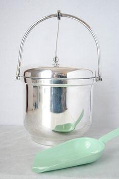 Vintage Ice Bucket - Silver Plated, 2-Quart. $32.00, via Etsy.