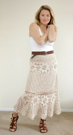 Skirt. Not that weird Russian woman who thinks she is the model. Follow the link and see it yourself!