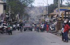 The city of Saint-Marc, Haiti, February 10, 2004. (Reuters/Carlos Villalon)
