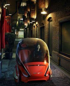 Futuristic Vehicle, EN V Concept Car: GMu0027s Vision For Future Urban  Transportation