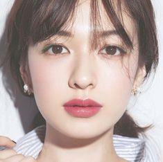 Pin by まいこ on ヘアメイク in 2019 J Makeup, Soft Makeup, Bridal Makeup, Wedding Makeup, Beauty Makeup, Asian Makeup Looks, Korean Makeup Look, Natural Makeup Looks, Japanese Makeup
