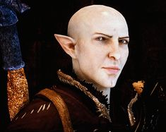 That damn smile. Goddammit.  God fucking dammit.  I have fallen completely for yet another Bioware LI.