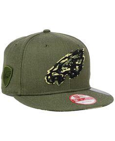 0c9932a2ff7 New Era Philadelphia Eagles Camo 9FIFTY Snapback Cap Go Eagles