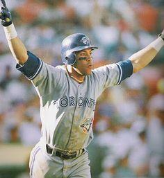 The Blue Jay Hunter: Acid Flashback Friday: Roberto Alomar's Home Run Off Dennis Eckersley Hockey, First World Series, Mlb Teams, Sports Teams, Baseball Boys, American League, Sports Figures, Toronto Blue Jays, Go Blue