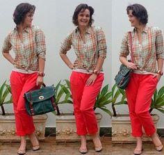 blog v@ LOOKS | por leila diniz: CALÇA CROPPED no modelito de hj + VERMELHO para dar alegria à sexta-feira | DEUS | 3 sorteios no blog.