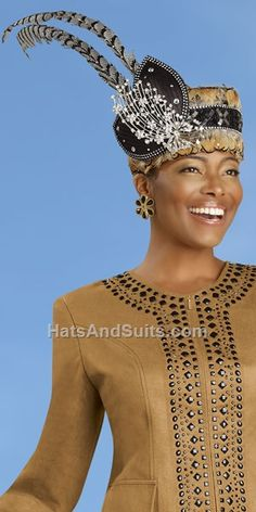 Image detail for -donna vinci couture church hat h1357