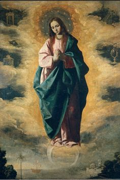 Francisco de Zurbarán, The Immaculate Conception, c. 1630