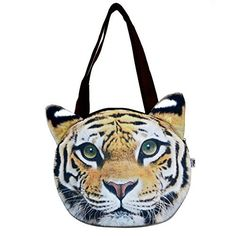 New Trending Cross Body Bags: Good Bag Womens Shoulder Bag Zipper Tote Bag Cross-body Bag with Cute Lifelike Animal Tiger Head Printing. Good Bag Women's Shoulder Bag Zipper Tote Bag Cross-body Bag with Cute Lifelike Animal Tiger Head Printing  Special Offer: $18.99  433 Reviews 100% Brand New and high quality Material: Polyester   cotton inner lining   canvas strap Pattern: 3D printing Animal Head Zipper: Yes...
