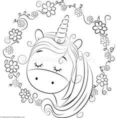 Paper Embroidery Patterns Cute Unicorn 5 Coloring Pages Unicorn Coloring Pages, Cute Coloring Pages, Disney Coloring Pages, Coloring Pages To Print, Printable Coloring Pages, Adult Coloring Pages, Coloring Pages For Kids, Free Coloring, Coloring Books