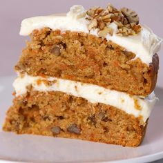 Homemade Carrot Cake, Moist Carrot Cakes, Best Carrot Cake, Best Cake Recipes, Sweets Recipes, Baking Recipes, Summer Desserts, Christmas Desserts, One Bowl Cake Recipe