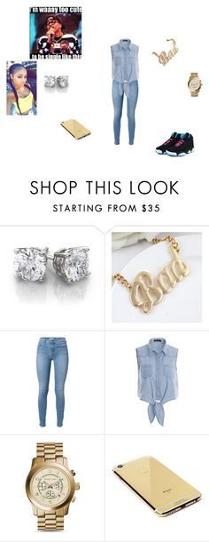 """""""Pretty On Fleek"""" by anquinette on Polyvore featuring beauty, Michael Kors and Goldgenie"""