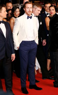 Ryan Gosling from Cannes 2016: Best Dressed Stars Ryan reminds us the gentlemen can totally bring it to the Cannes red carpet too.