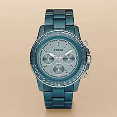 This watch comes in various colors.  I was torn between purple and this teal and dropping hints like crazy before Christmas.  Oh well - perhaps when it moves over to 6pm.com...