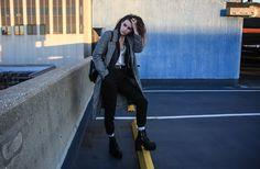 Unif Boots, H&M Coat.