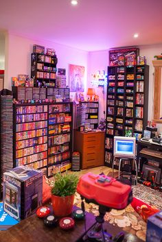 Self-confessed gaming obsessive Heidi's room is a shrine to retro games and it's utterly perfect.