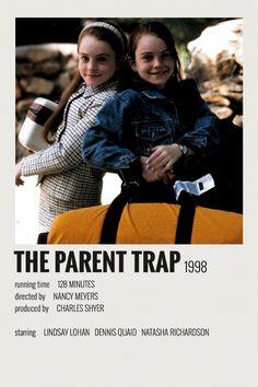 Alternative Minimalist Movie / Show Polaroid Poster – The Parent Trap Iconic Movie Posters, Minimal Movie Posters, Minimal Poster, Iconic Movies, Film Polaroid, Polaroids, Titanic Film, Film Maker, Film Poster Design