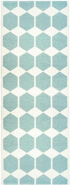 Love these rugs! Anna Aqua Pastel- Brita Sweden