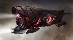 Stunning CAPTAIN AMERICA: THE WINTER SOLDIER and GUARDIANS OF THE GALAXY Concept Art by Andrew Kim « Film Sketchr #spaceship – https://www.pinterest.com/pin/353180795762323700/