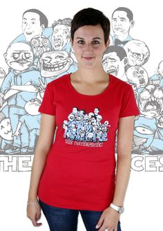 Ragefaces Damen T-Shirt  http://www.bastard-shop.de/damen-t-shirts/ragefaces-rotes-damen-t-shirt-679/