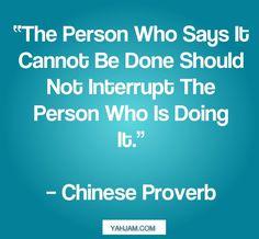 Don't interrupt!