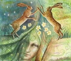 During the long winter months, Ostara, the maiden goddess of spring sleeps deep in the Earth.  She awaits the song of spring.  Sometimes, she likes to sleep-in.  Sometimes, she covers her head with…