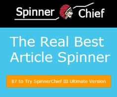 Spinner chief is one of the best Software to spin and create the Relevant content for web site you want to get the cheapest plan of spinner chief then you can go with us hurry! Limited offers. http://www.webtechcoupons.com/offers/spinnerchief/