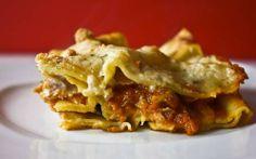 Pumpkin, Prosciutto and Sage Lasagna