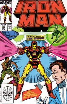 Iron Man #235 @ niftywarehouse.com #NiftyWarehouse #IronMan #Iron-man #Marvel #Avengers #TheAvengers #ComicBooks #Movies