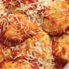 Bubble Up Biscuit Pizza