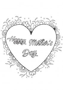 Coloring Page Mother S Day By Louise