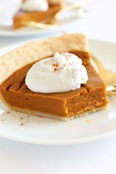 Easy to make! THE BEST Vegan Gluten-Free Pumpkin Pie! 10 ingredients, simple methods, SO amazing Gluten Free Pumpkin Pie, Vegan Pumpkin Pie, Pumpkin Pie Recipes, Vegan Gluten Free, Dairy Free, Pumpkin Dessert, Perfect Pumpkin Pie, Best Pumpkin Pie, Pumkin Pie