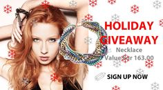 Are you a jewelry lover? If your answer is yes, sign up to my #giveaway for a chance to win a Maiden-Art necklace (value Eur 163.00)  http://basicfront.easypromosapp.com/p/212544