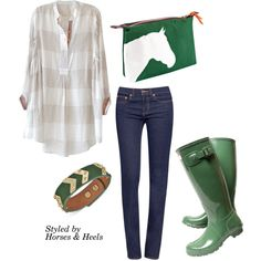 Green: Color of the Month on Horses & Heels