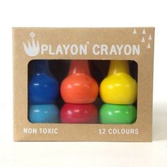 Playon Crayon / couleurs vives