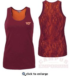 f62714280143a Virginia Tech Women s Tops   Dresses