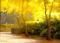 Luz de Outono em Seteais, Sintra  Painter Salvação Barreto, 2006
