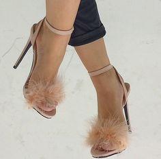 Fluffy Lulu heels @ public desire