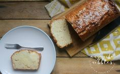 Gluten Free Low FODMAP Coconute Lemon Cake with Desiccated Coconut