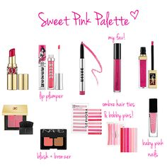 pink makeup products for summer www.lovelucygirl.com