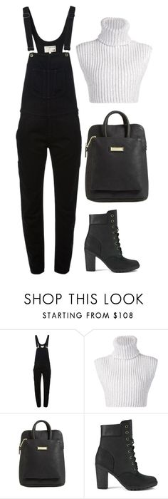 """""""Move Over"""" by silhouetteoflight ❤ liked on Polyvore featuring rag & bone, Baja East, Catherine Catherine Malandrino and Timberland"""