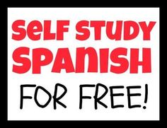 Self Study a Language - Learn Spanish Using Five Free Online Resources #learnspanish #learnspanishtips