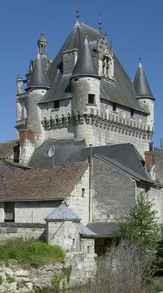 Chateau de Loches, France