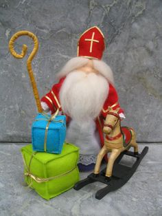 Sinterklaas and gifts