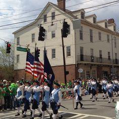 Broughton Street - Savannah St. Patrick's Day